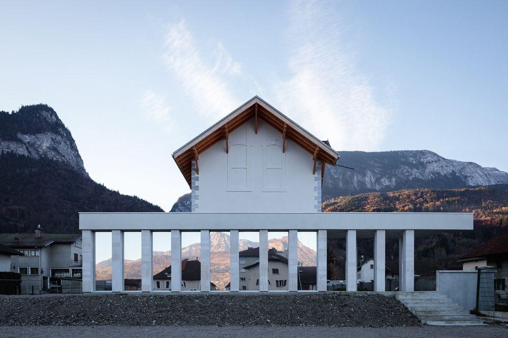 Réhabilitation et agrandissement d'une ancienne usine de décolletage en Haute-Savoie
