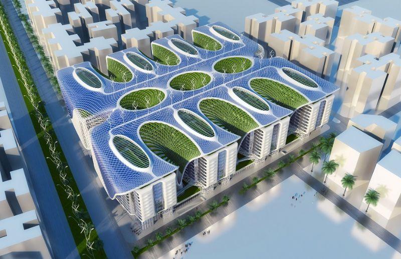 Na het project in Taiwan volgde er een rechtstreekse opdracht voor een project van 450.000 m² in Caïro: The Gate, met 2020 als opleveringsdatum.