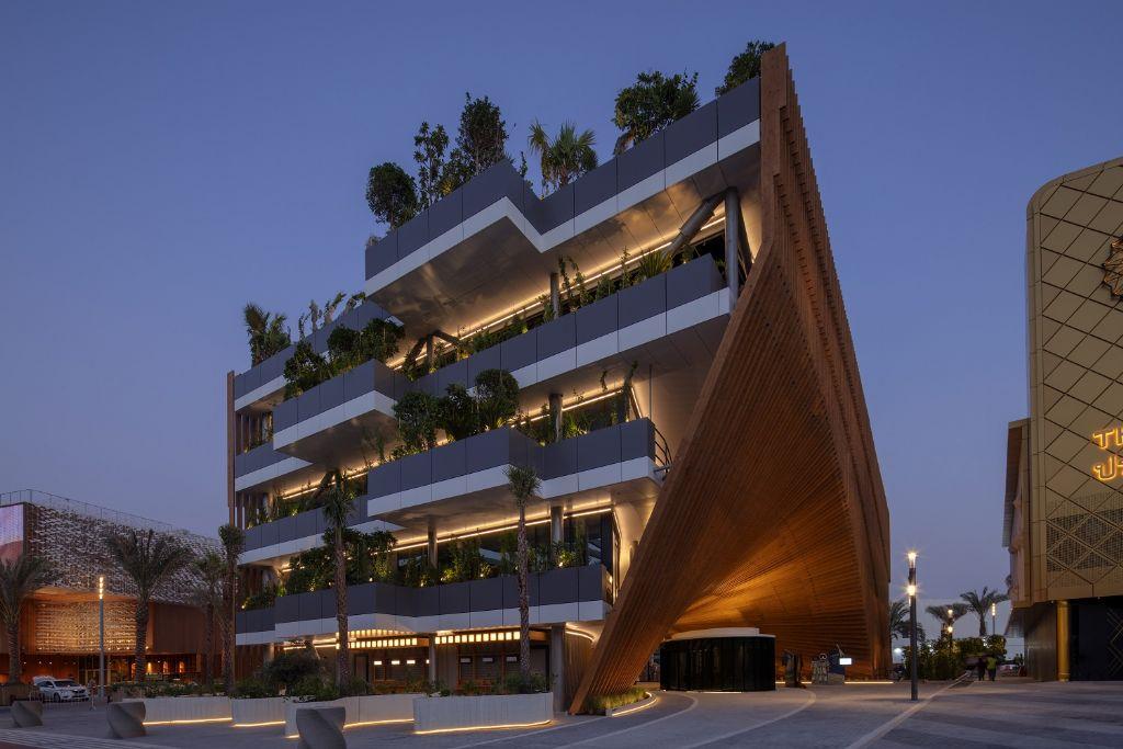 Delta Light éclaire le pavillon belge à l'exposition Universelle de Dubaï