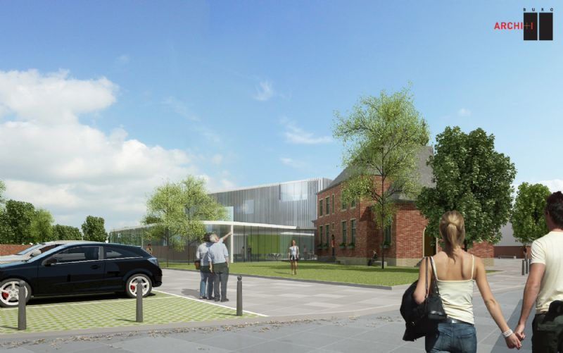 Het project moet het centrum van Ternat doen opleven.