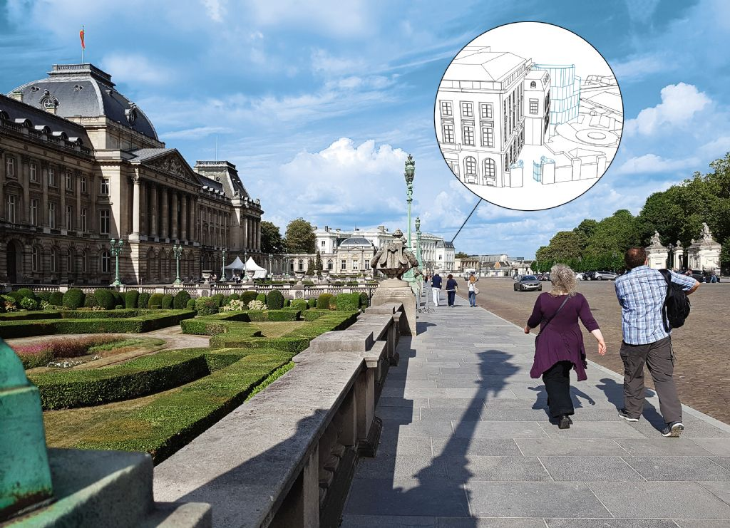 Le musée du Chat et du cartoon se situera à deux pas du Palais Royal et du Parc de Bruxelles.