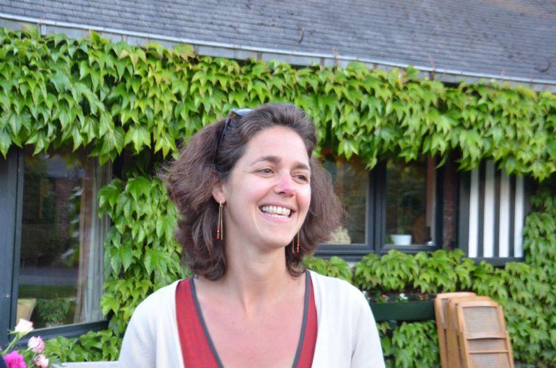 Architecte Sophie Bronchart, projectverantwoordelijke voor Leefmilieu Brussel