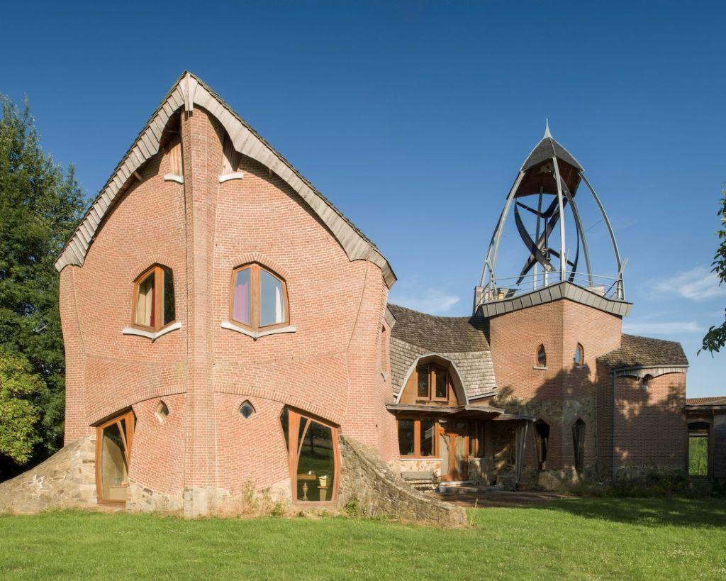 Maison à Temploux (architecte : Hubert Sauvage, 2005)