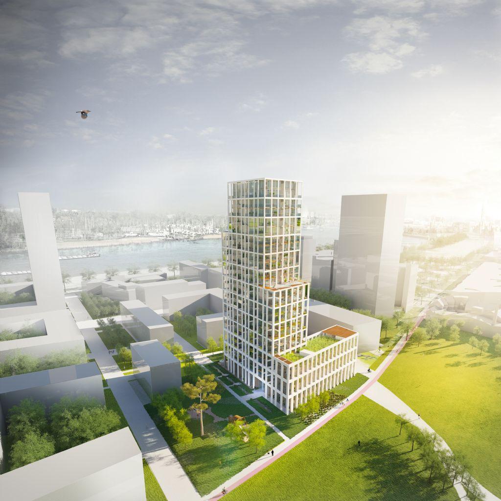 Zuiderzicht, een nieuwe ster aan de Antwerpse skyline