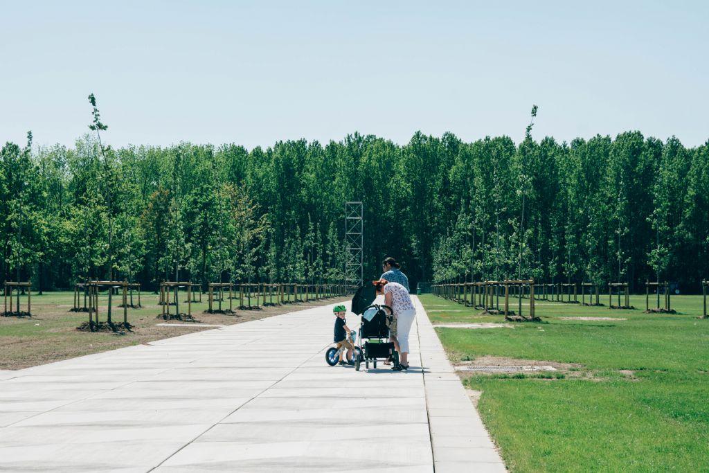 Precast in Landscape: Landschapspark Werchter