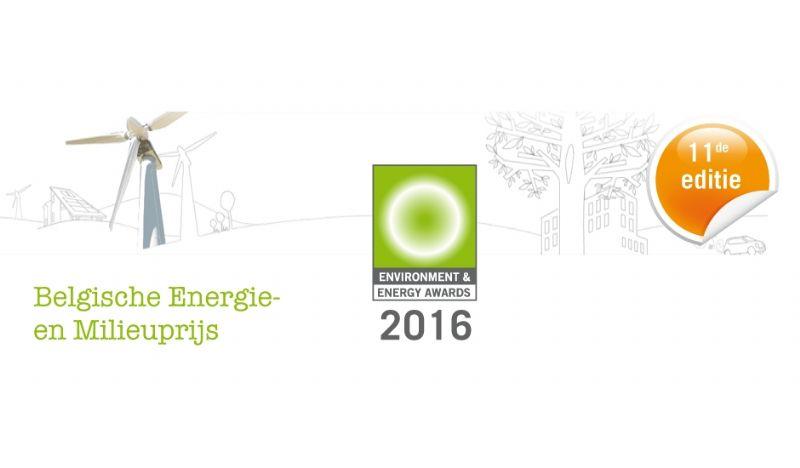 Stel u kandidaat voor de Belgische Energie- en Milieuprijs 2016
