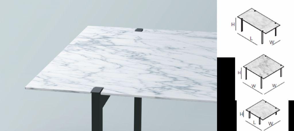 Beltrami stelt eigen collectie minimalistische tafels voor