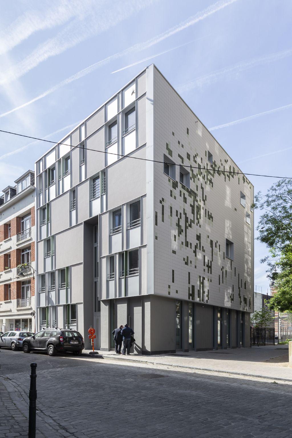 Un immeuble de logements pour 'recoudre le tissu urbain'