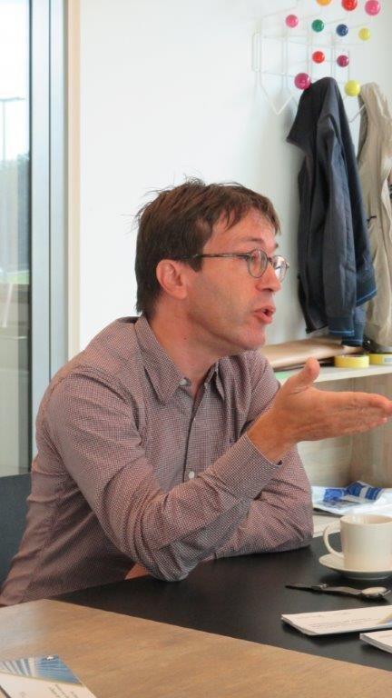 """Paul Vermeulen (De Smet Vermeulen architecten): """"Le gouvernement doit envisager la ville comme un lieu qui est inclusif - un lieu où il n'est pas seulement question d'habiter, mais aussi de travailler, faire du shopping, (re)créer, rencontrer..."""""""
