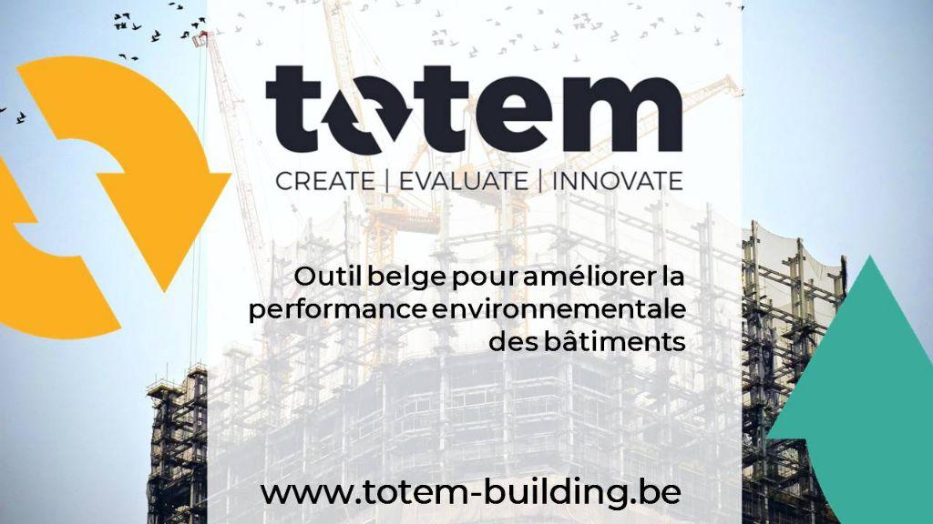 L'outil TOTEM encore plus intéressant grâce aux données EPD belges
