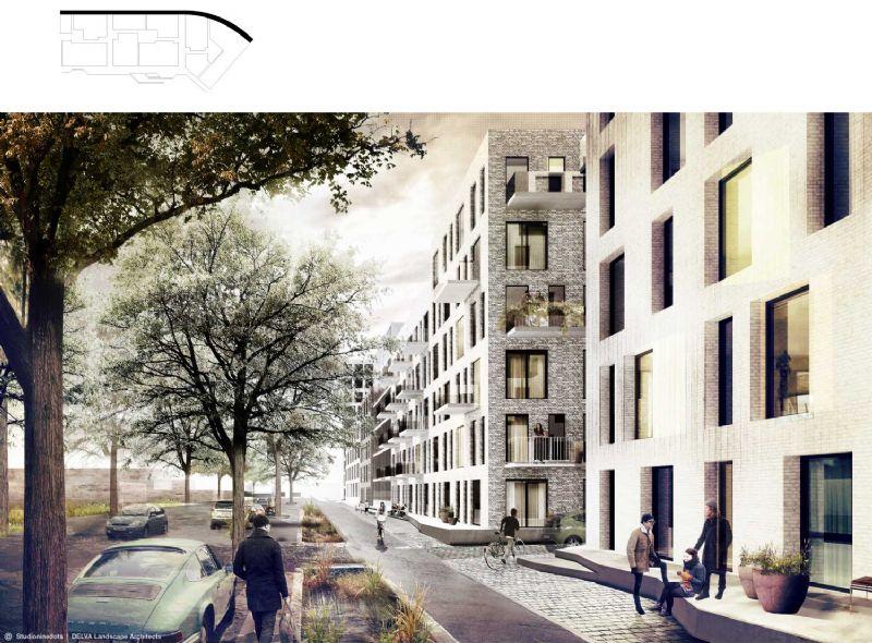 De nieuwe wijk moet ruimte scheppen voor sociale interactie.