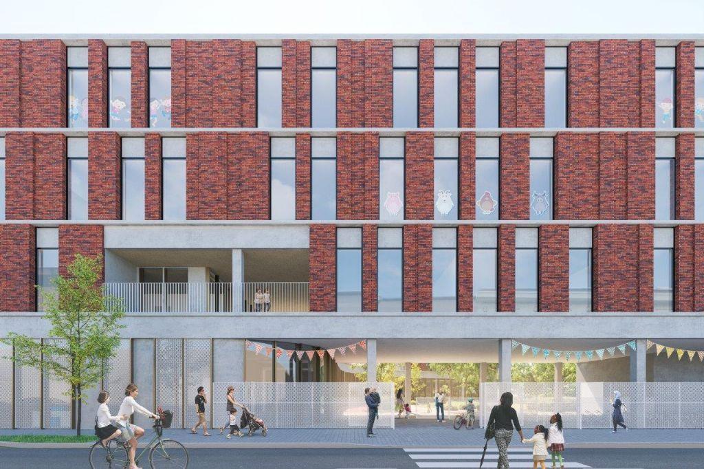 Nieuwe GO!-basisschool en crèche in Molenbeek volgens D&B-procedure
