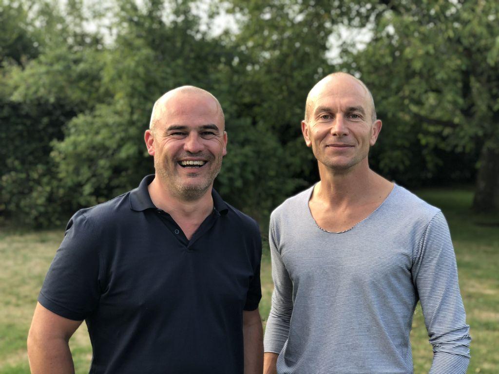 De gauche à droite : Julien Renaux et Benoît Nis (FORMa*)