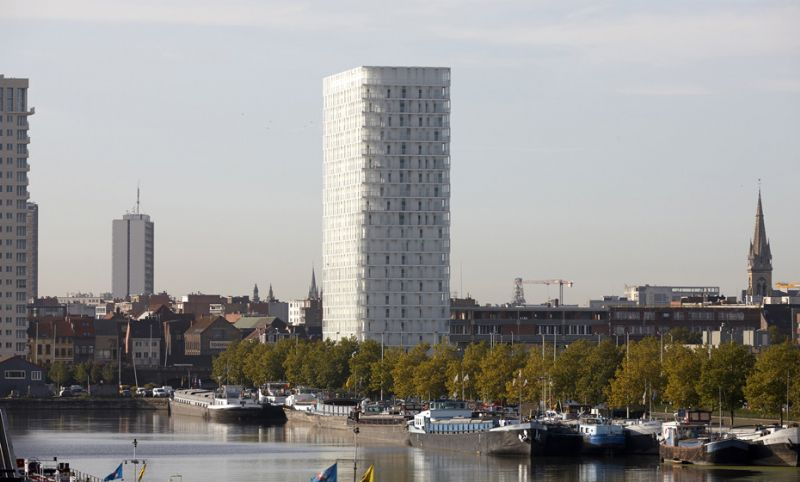 Park Tower, Antwerpen. Studio Farris architects - ELD Partnership