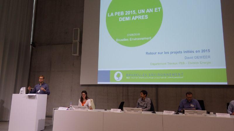 Leefmilieu Brussel maakt eerste balans op van EPB 2015