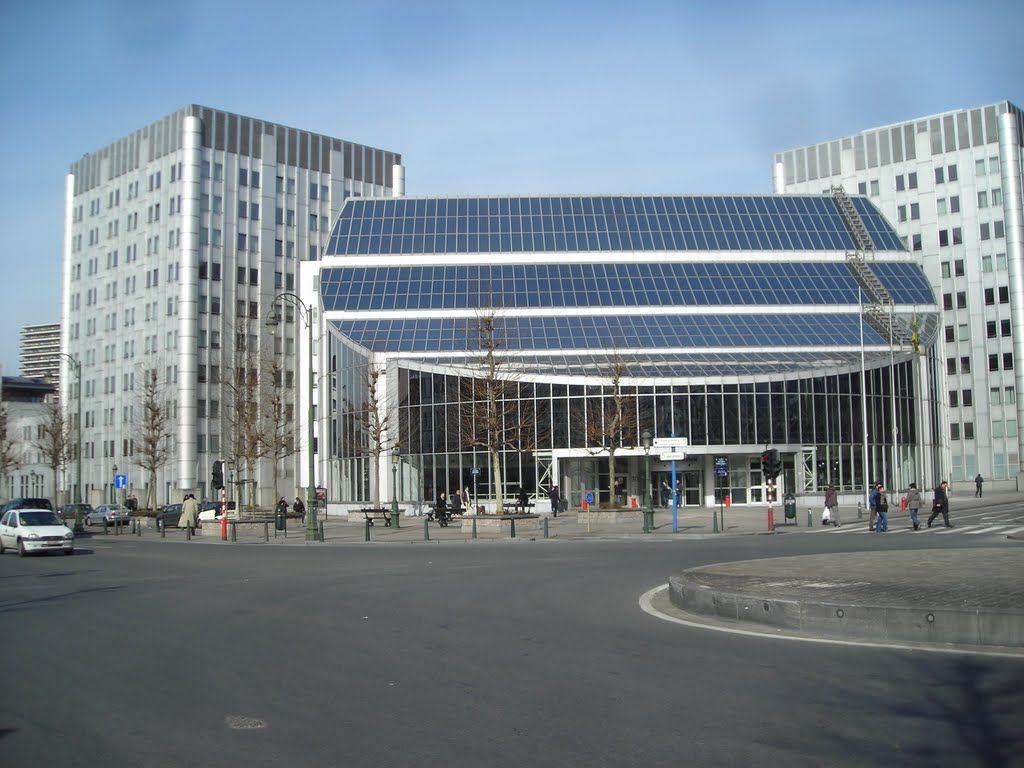 Boudewijngebouw Brussel.