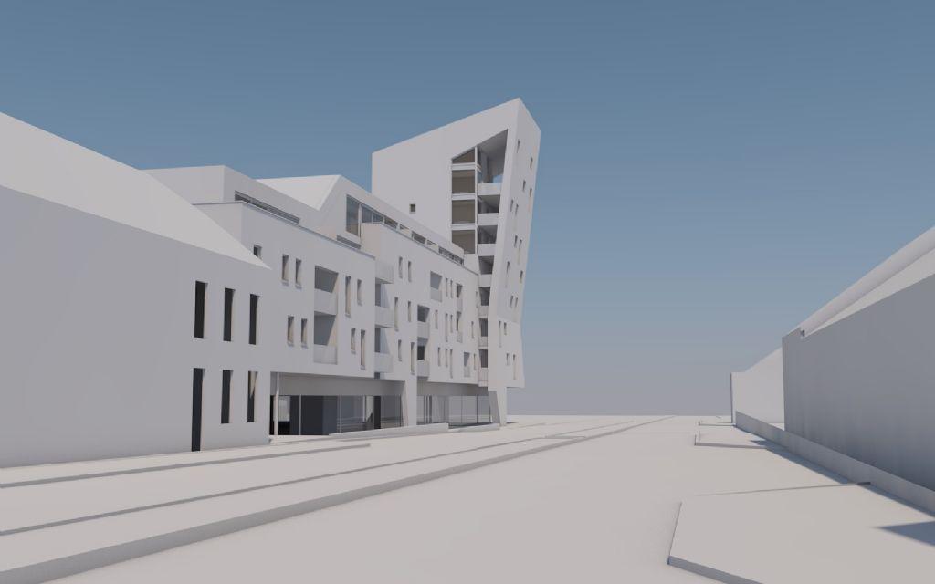 Projet d'urbanisation et de promotion résidentielle et commerciale à Marche-en-Famenne, sur une friche industrielle