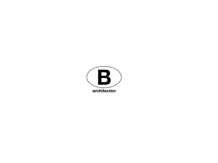 Logo van B-architecten.