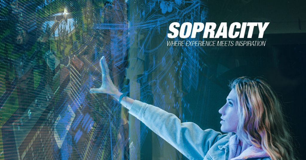 SOPREMA inspireert architecten met praktische totaaloplossingen in virtuele 3D-stad Sopracity