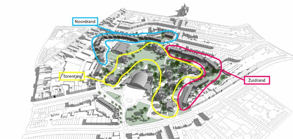 Drie ontwerpteams geselecteerd voor wedstrijd herontwikkeling Arenawijk Deurne