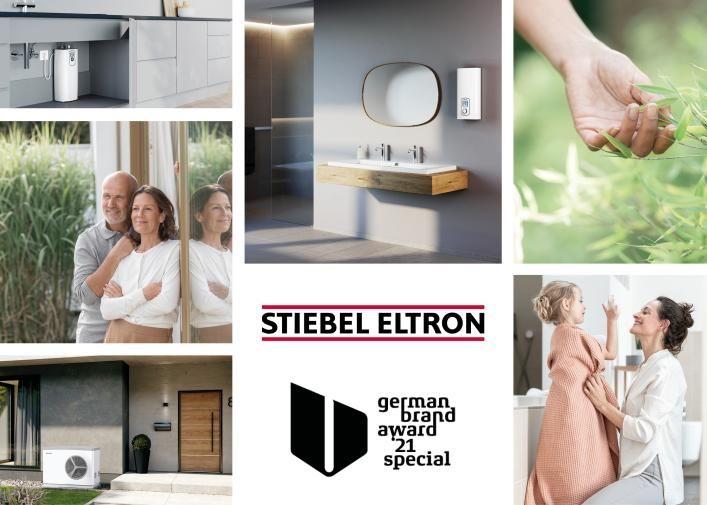 Stiebel Eltron wint German Brand Award