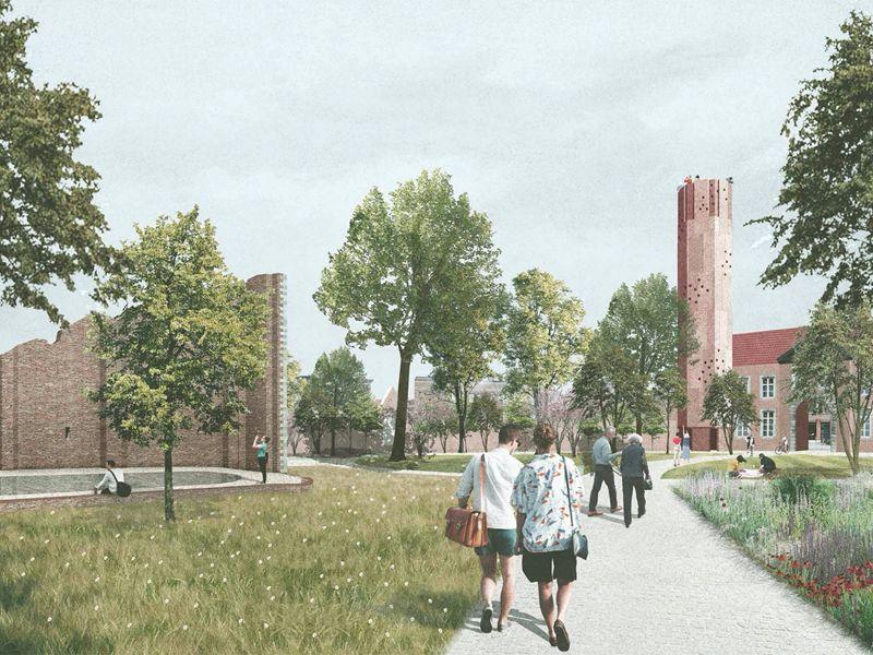 Provincie Limburg, Stad Hasselt en Universiteit Hasselt sloegen de handen in elkaar voor de restauratie van het Begijnhof in Hasselt.  Bovenbouw Architectuur, David Kohn Architects, Architecten Beeck & Hermans en Landinzicht wonnen de Open Oproep.