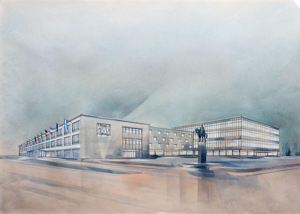 Zomerexpo toont vernieling en wederopbouw Oostende na Tweede Wereldoorlog
