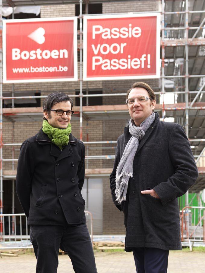 Christophe Debrabander (links) en Daniel Vankerkhoven (rechts)