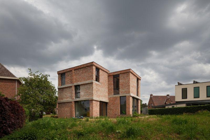 Woning in Asse van BLAF architecten.