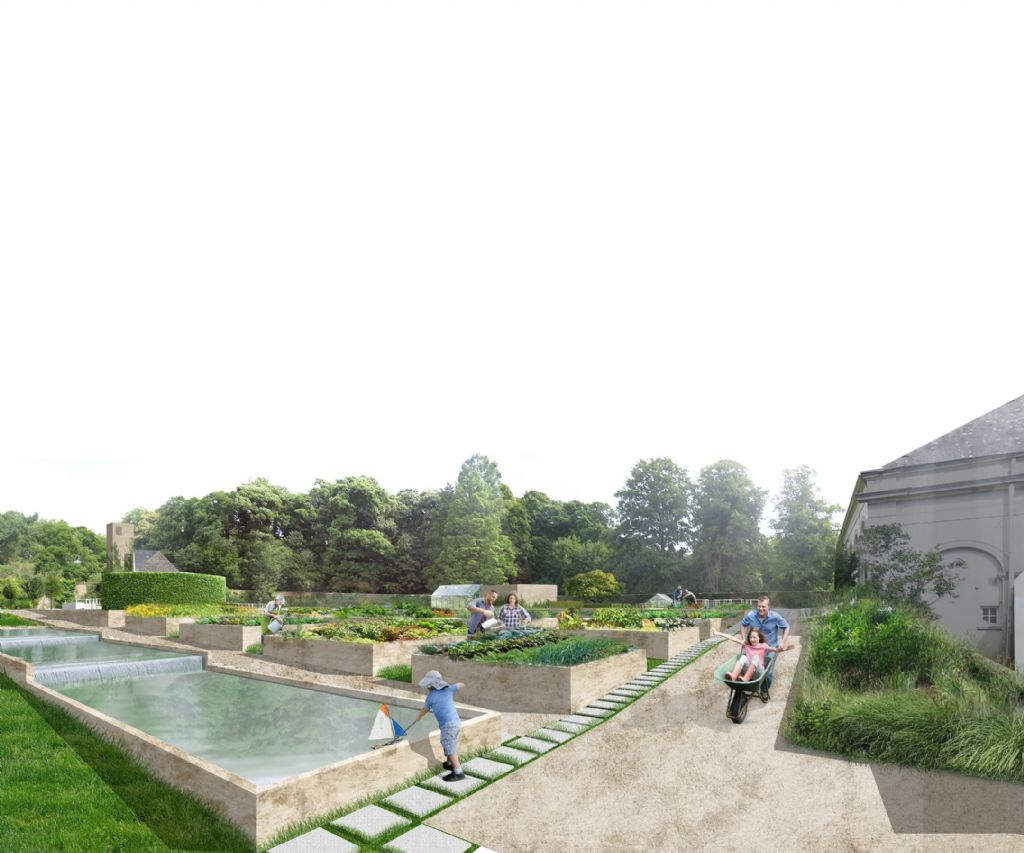 Culinaire tuin in plantentuin Meise