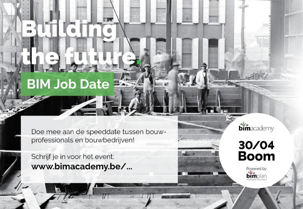 Neem deel aan Open BIM Jobdate