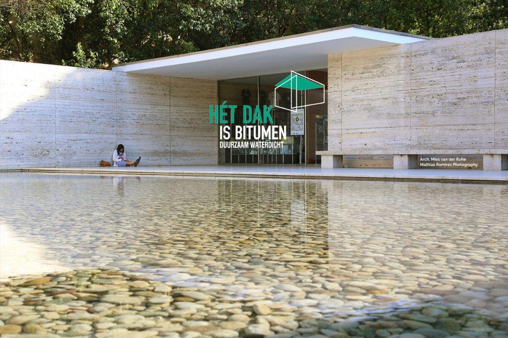 Het Dak is Bitumen - architectuuraward met focus op platte daken