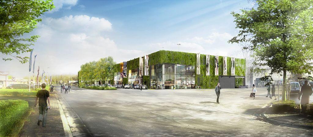 Façades vertes pour surfaces commerciales à Tournai