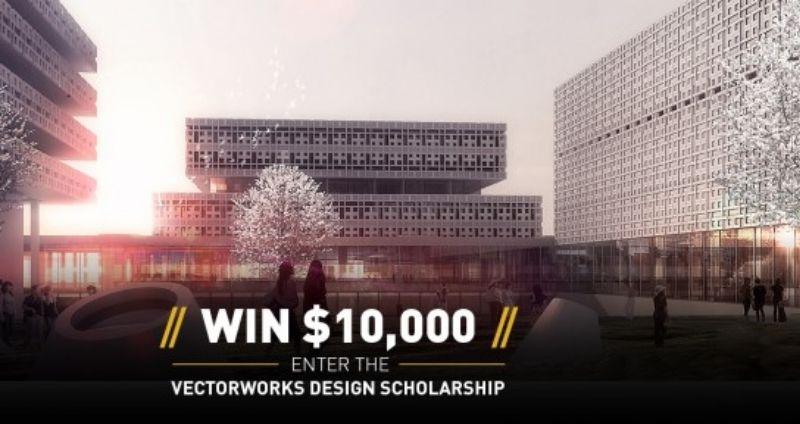 Win  $10.000 dankzij de Vectorworks Ontwerpprijs voor studenten
