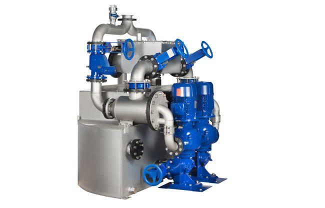 Het is een onderhoudsvriendelijke oplossing om beladen afvalwater op een economische en bedrijfszekere manier te verpompen. De AmaDS³ biedt het voordeel van de combinatie van een dompelpomp, waarbij één put volstaat, en een droog opgestelde afvalwaterpomp