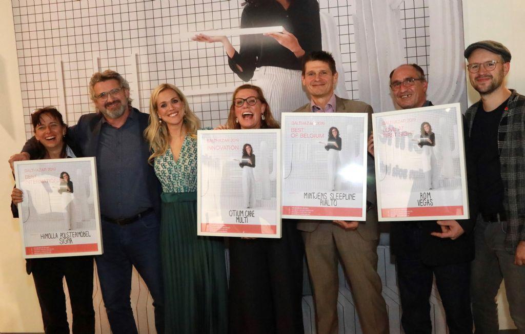 Vier awards uitgereikt op Meubelbeurs