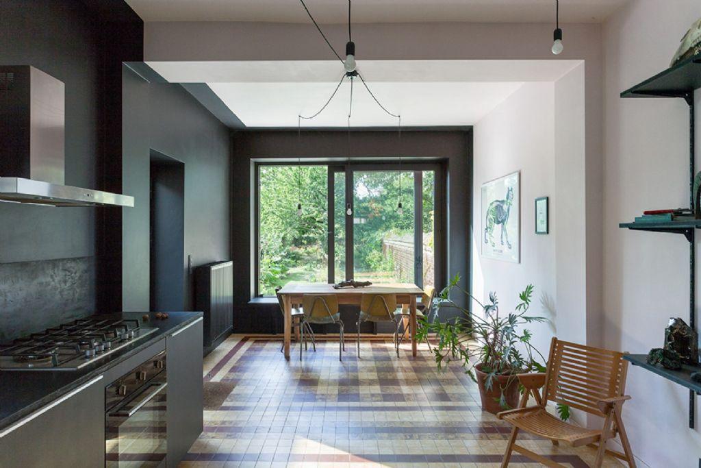 Une maison à la fois lieu de vie et de production artistique