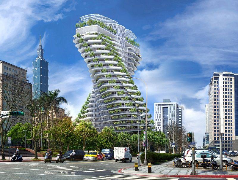 """""""Het eerste grote project dat ik heb mogen realiseren is een woontoren van 50.000 m² in Taipei (Taiwan)."""""""