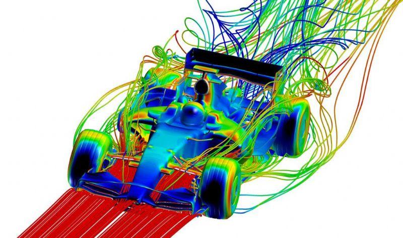 """""""Enkele voorbeelden zijn de optimalisatie van de aerodynamica van formule 1 wagens, de reductie van emissies van verbrandingsmotoren, tot zelfs de vormgeving van hartkleppen voor een verbeterde doorstroming van het bloed doorheen het hart."""""""