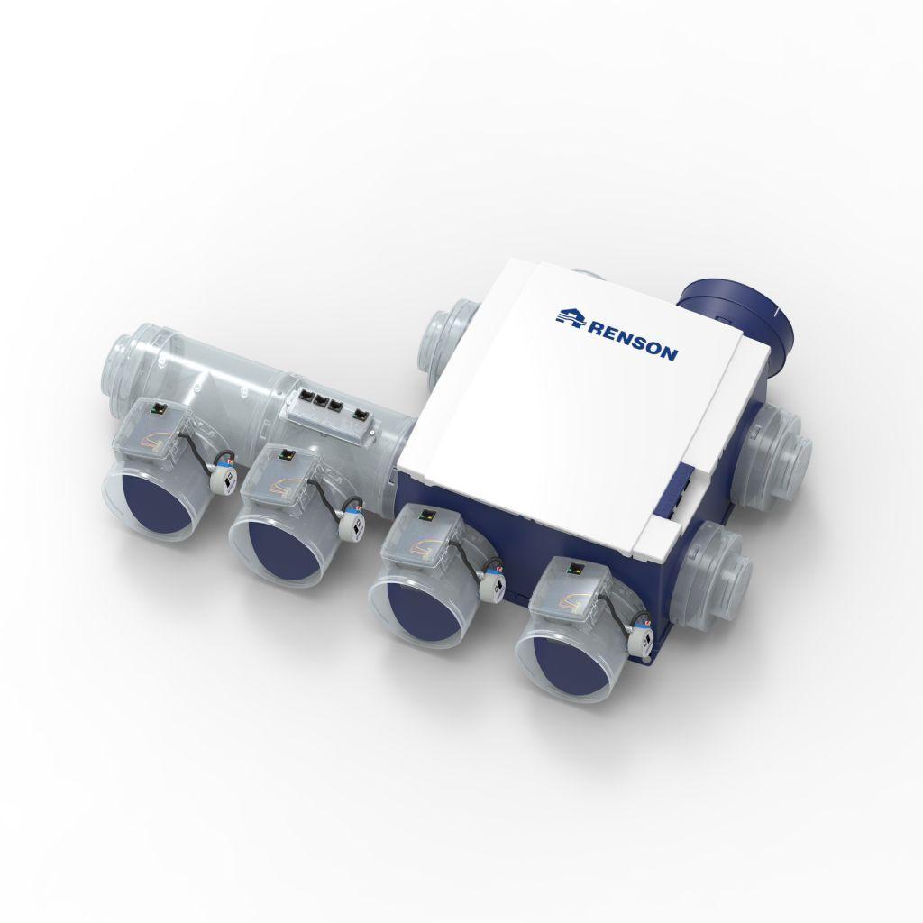 Renson Healthbox 3.0 : une vision claire de la qualité de l'air et une ventilation intelligente