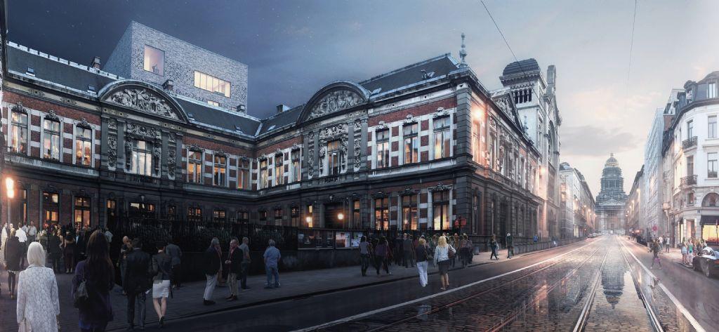 Origin-A2RC-FVWW restaureren Koninklijk Conservatorium Brussel