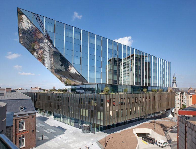 Nieuw stadhuis verenigt verleden en toekomst