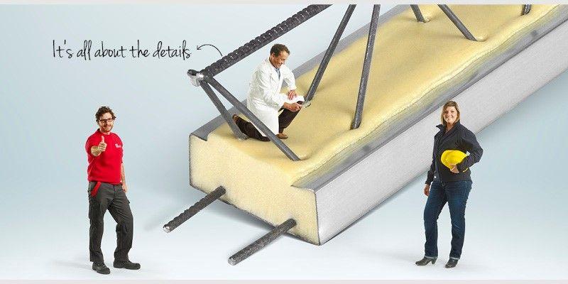 Staltolight-draagvloer combineert licht gewicht met hoogwaardige isolatie