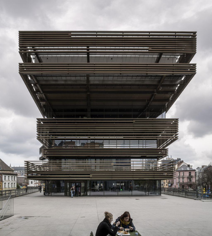 De Krook, Coussée & Goris architecten, RCR Arquitectes