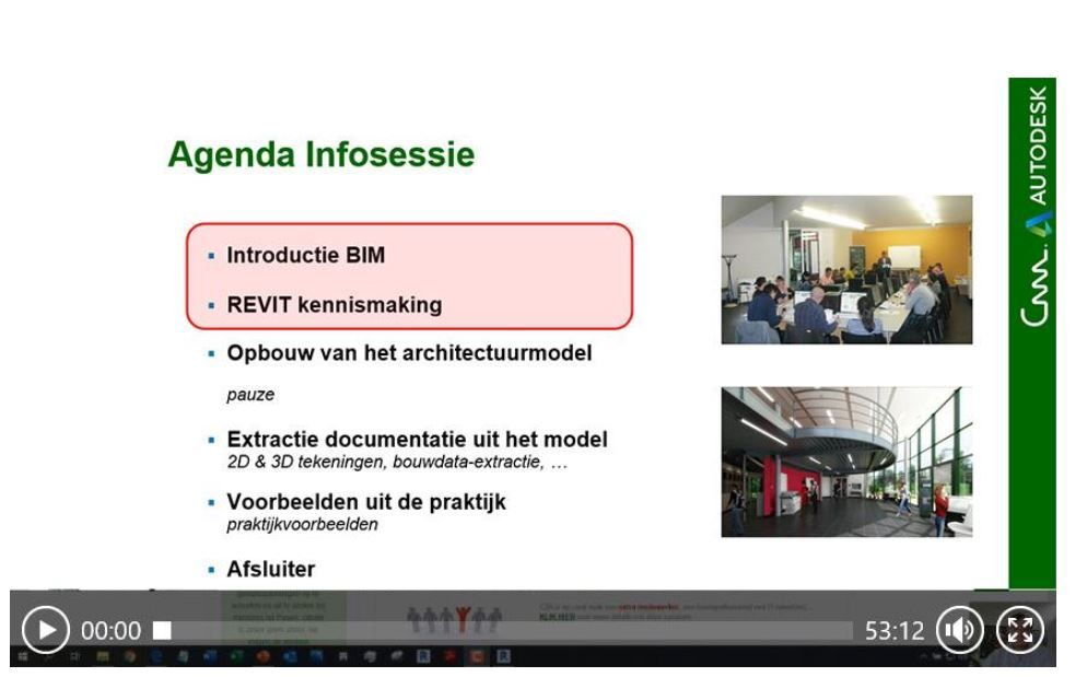 C3A-Revit kennismaking online