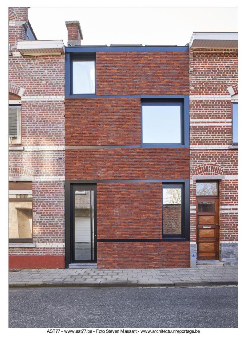 Ast77 – Peter Van Impe: De Vlaamse Arbeiderswoning 2.0. Rijwoning, nieuwbouw in Kessel-Lo