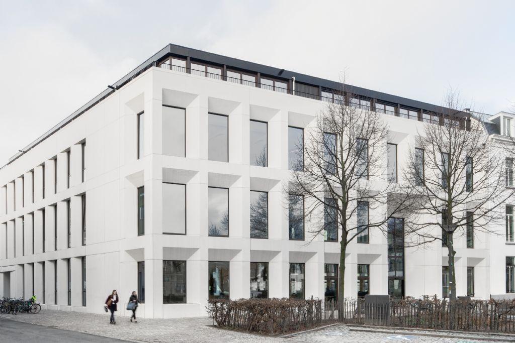 Oud en nieuw versmelten in hoofdcampus Antwerp Management School