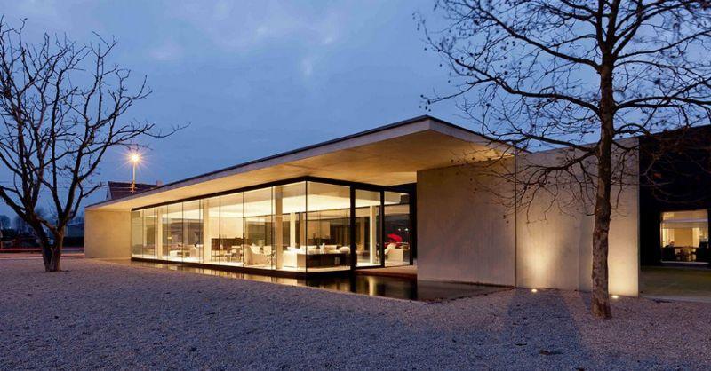 Govaert & Vanhoutte Architects: Showroom Extension.