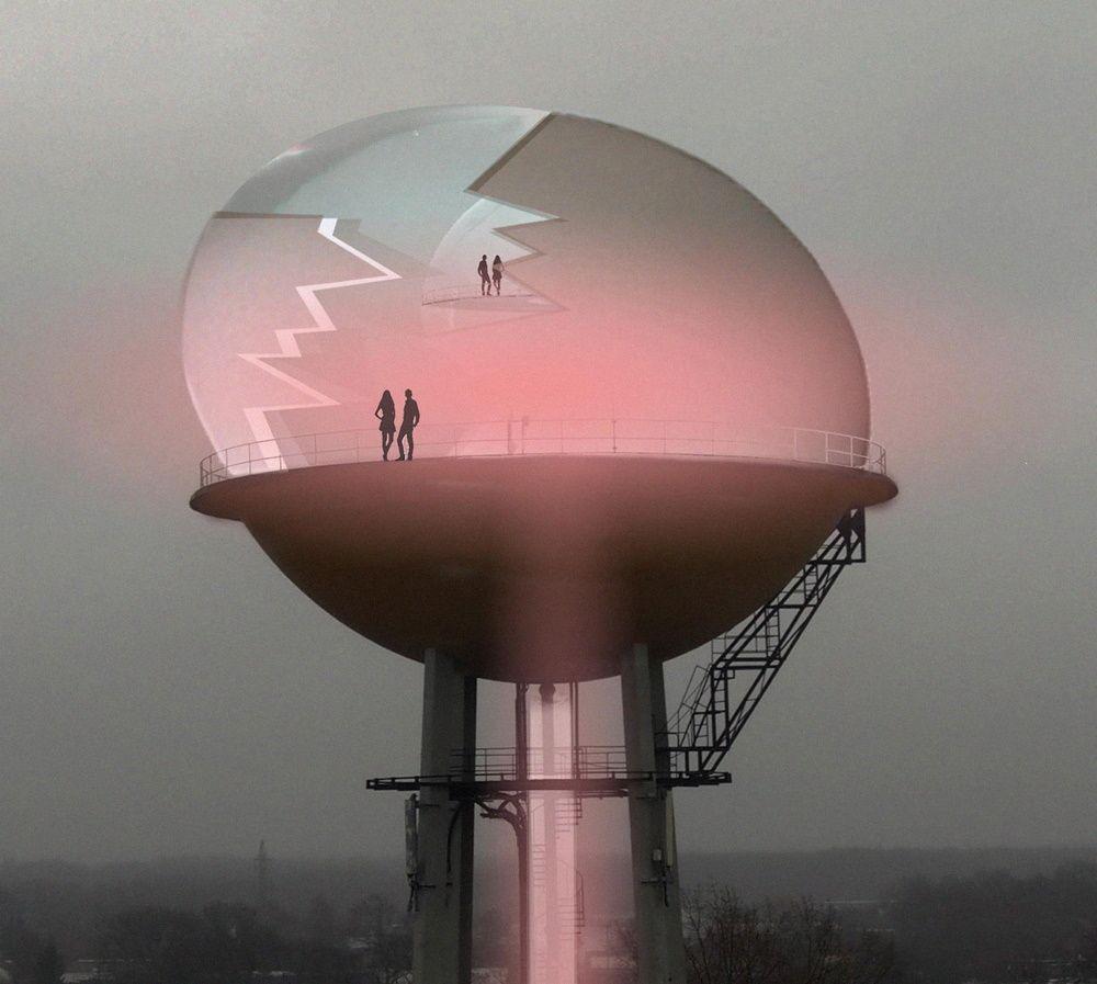 In 2019 gaf de Provincie Limburg nog groen licht voor het Ei van Koen Vanmechelen op de watertoren van Corda Campus.