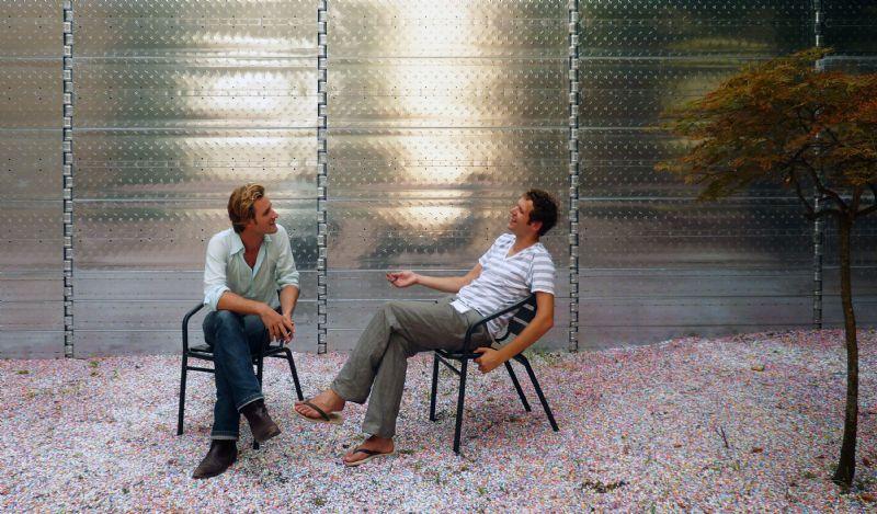 Het architectenduo Kersten Geers en David Van Severen